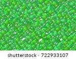 seamless festival green spheres ... | Shutterstock . vector #722933107