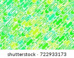 seamless colorful emerald forms ... | Shutterstock . vector #722933173