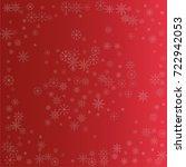 christmas snow powder...   Shutterstock .eps vector #722942053