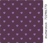 pattern with hearts. flat...   Shutterstock .eps vector #722981773