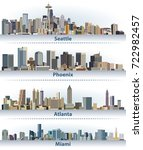 vector collection of united... | Shutterstock .eps vector #722982457
