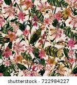 vintage botanical | Shutterstock . vector #722984227