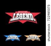 sport retro lettering oo emblem....