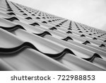 construction of the roof of the ...   Shutterstock . vector #722988853