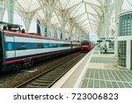 lisbon  portugal   august 10 ... | Shutterstock . vector #723006823