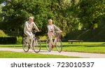 active old age  people and... | Shutterstock . vector #723010537