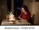 education  technology ... | Shutterstock . vector #723013723