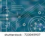 technical illustration.... | Shutterstock .eps vector #723045937
