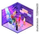 isometric flat 3d isolated...   Shutterstock .eps vector #723046633