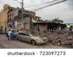 xochimilco  mexico city  mexico ...   Shutterstock . vector #723097273