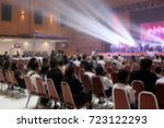 blur the music activity of... | Shutterstock . vector #723122293