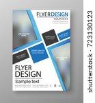 business flyer design.  can be... | Shutterstock .eps vector #723130123