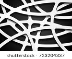 black and white corporate wavy... | Shutterstock .eps vector #723204337