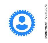 icon profile | Shutterstock .eps vector #723213073