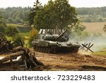 belarussian main battle tank t... | Shutterstock . vector #723229483