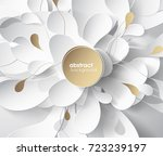 abstract colored flower... | Shutterstock .eps vector #723239197