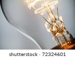 stock photo : burning light