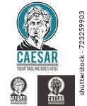 caesar is a template logo in... | Shutterstock .eps vector #723259903