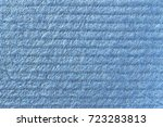 texture of cellulose. blue... | Shutterstock . vector #723283813