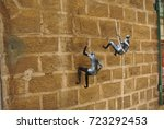 tourist attraction. jaffa.... | Shutterstock . vector #723292453