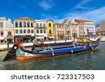 aveiro  portugal   july 25 ... | Shutterstock . vector #723317503