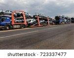 odessa  ukraine september 1 ... | Shutterstock . vector #723337477