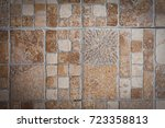 decorative tile. texture or...