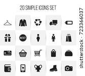 set of 20 editable business...