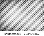 fade half tone background.... | Shutterstock .eps vector #723406567