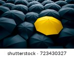 different  unique and standing... | Shutterstock . vector #723430327