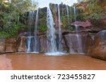 cuevas waterfalls  santa cruz ... | Shutterstock . vector #723455827