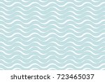 abstract vector wave line. | Shutterstock .eps vector #723465037