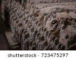 xian  china   may 11  2017  ...   Shutterstock . vector #723475297