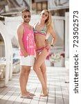 odessa  ukraine june 14  2014 ... | Shutterstock . vector #723502573