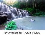 the landscape photo  sam lan... | Shutterstock . vector #723544207