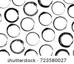 vector geometric seamless... | Shutterstock .eps vector #723580027