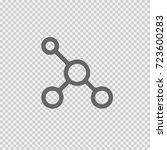 network vectoricon eps 10.... | Shutterstock .eps vector #723600283
