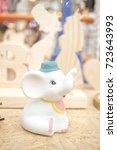 Ceramic Elephant. Adorable...
