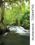 Small photo of Waterfall in the forest,Sarika water fall,Nakorn nayok province,Thailand.