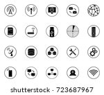 technology icons | Shutterstock .eps vector #723687967
