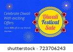 diwali  indian festival of... | Shutterstock .eps vector #723706243