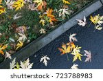 Small photo of Fall under feet
