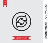 refresh vector icon ...