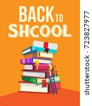 back to school  time to study   Shutterstock .eps vector #723827977