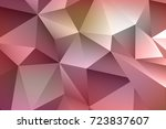 abstract low poly background | Shutterstock . vector #723837607