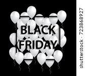 vector illustration of black... | Shutterstock .eps vector #723868927