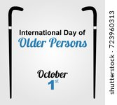 international day of old...   Shutterstock .eps vector #723960313