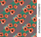 seamless pattern in small...   Shutterstock .eps vector #723968893