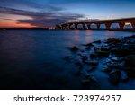 Sunset At The Hathaway Bridge...