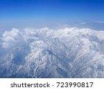 mount haku view from northeast... | Shutterstock . vector #723990817